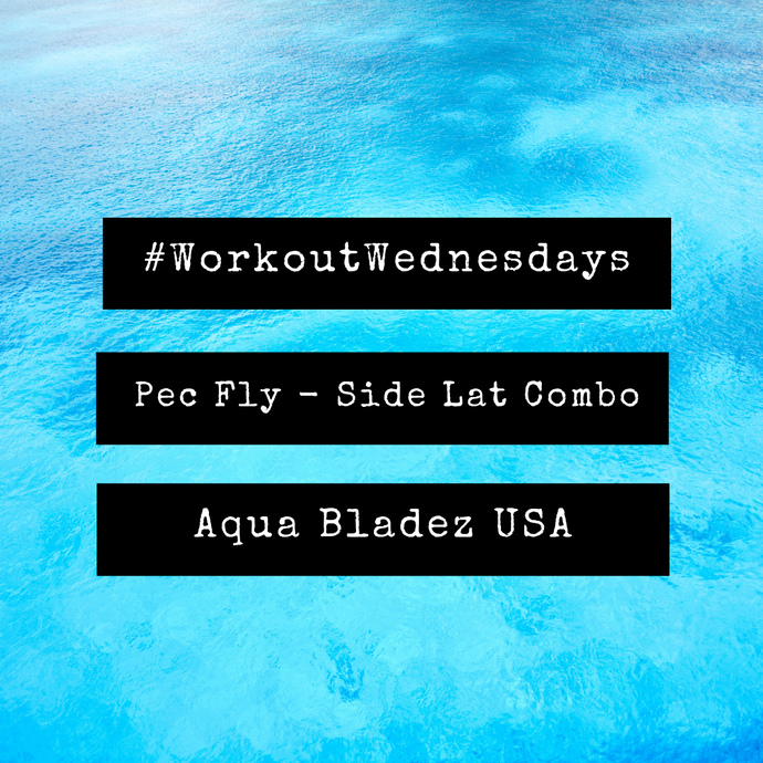 #WorkoutWednesday - Pec Fly Side Lat Combo