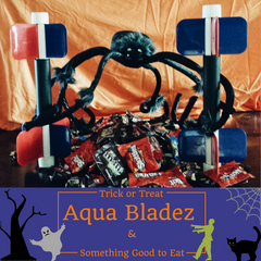 Trick or Treat, Aqua Bladez and something good to eat