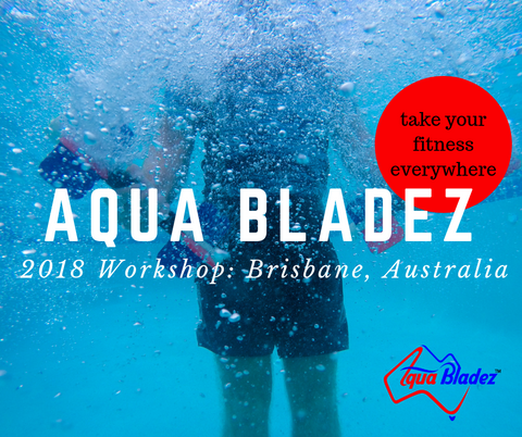 Water Exercise workshop Brisbane Australia 2018