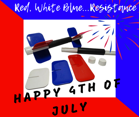 Red White and Blue Resistances