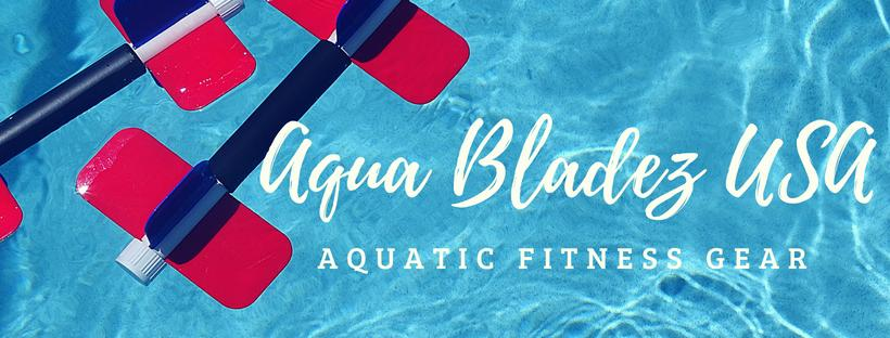 Aqua Bladez 6 combinations on pool deck
