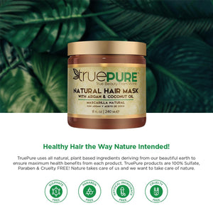Healthy Hair the Way Nature Intended