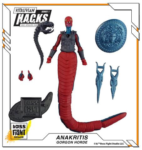 Boss Fight Studio Vitruvian H.A.C.K.S. Anakritis Gorgon Action Figure