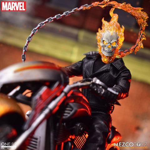 PRE-ORDER Mezco One:12 Collective Marvel Ghost Rider Action Figure