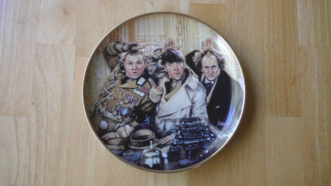 1993 Franklin Mint The Three Stooges Limited Edition Collectors Plate