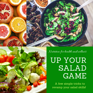 Up your salad game - tips and recipes to summon the yummin'!