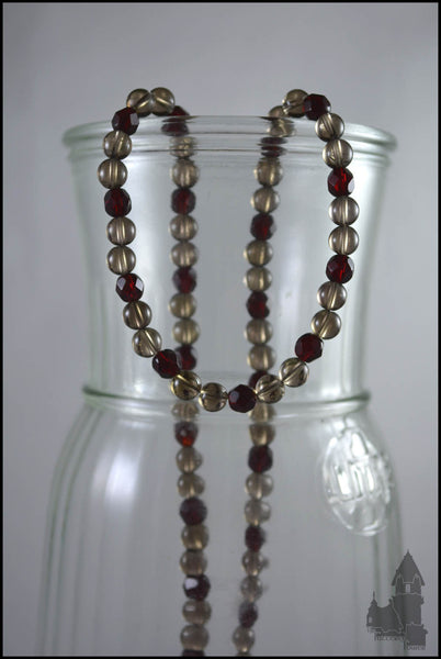 Lady Alexis - Glass necklace