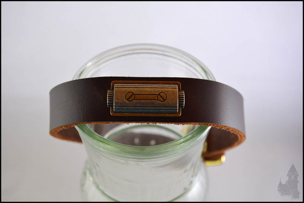 Calista's Collar - Leather collar