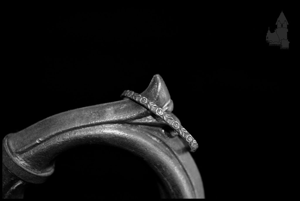 'Morning Dew' 925 sterling silver ring