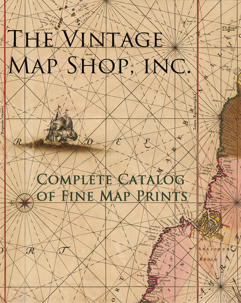 Vintage Map Shop - Complete Catalog of Fine Print Map Reproductions