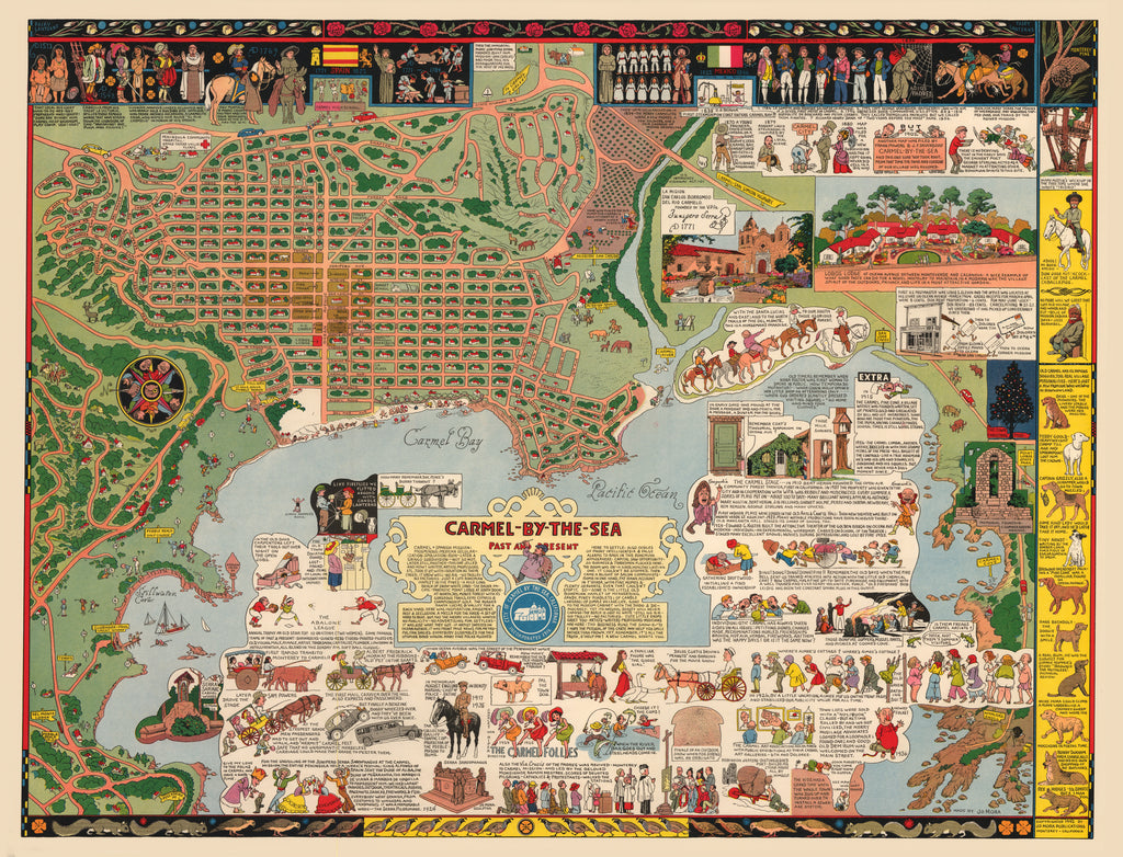 Vintage Maps of the Western United States - The Vintage Map ...