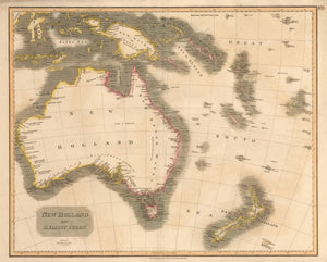 New Holland and Asiatic Isles by: John Thomson 1814