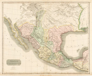 1814 Spanish North America