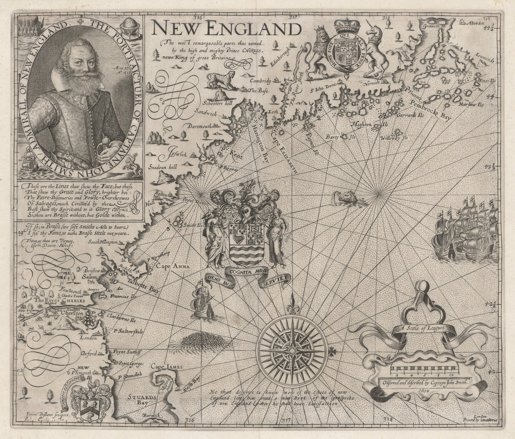 1635 New England.... Observed and Described by Captayn John Smith