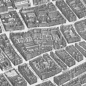 1734-36 The Turgot Plan of Paris