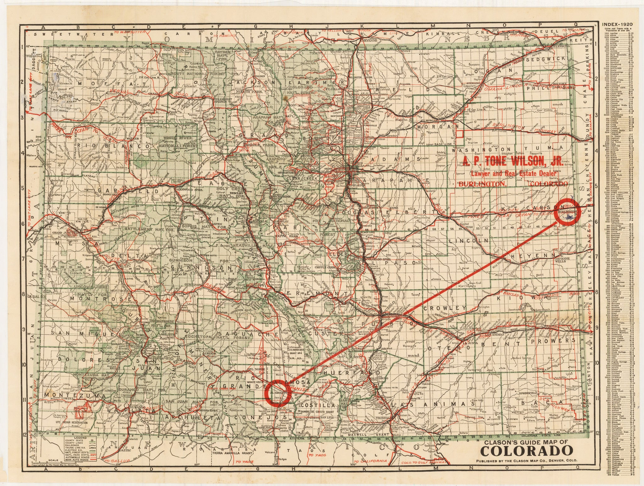 Vintage Maps Of The Western United States The Vintage Map Shop - Jo mora los angeles map
