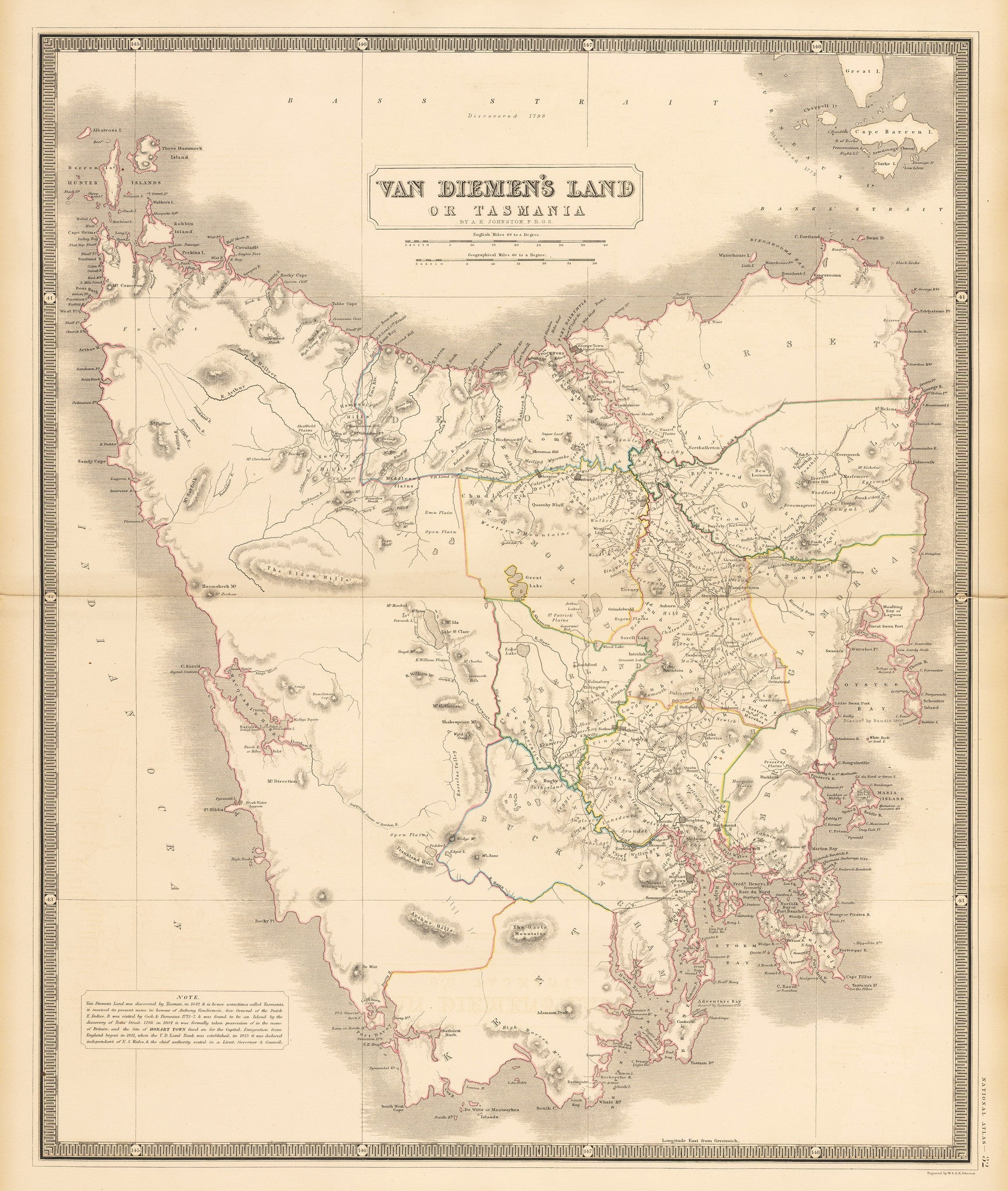 Map X.Vintage Maps Of Australia New Zealand The Vintage Map Shop Inc