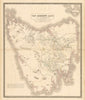 Van Diemen's Land or Tasmania By: A.K. Johnston, F.R.G.S. 1851 (Published) Edinburgh 24 x 19.5 inches
