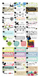 30 Custom Printed Poly Cotton Labels