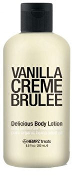 Hempz Treats Vanilla Creme Brulee Body Lotion 8.5oz