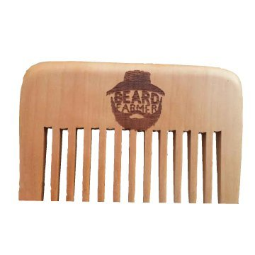 Beard Farmer Wooden Comb