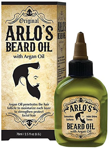 Arlo's Beard Oil Argan Oil 2.5oz