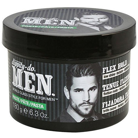 Dippity Do Men Styling Paste Flex Hold 6.3 Oz
