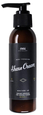O'douds All Natural Non-Foaming Shave Cream 4oz