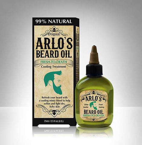 Arlo's Beard Oil Fresh to Death Peppermint 2.5oz