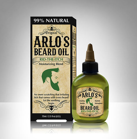Arlo's Beard Oil Rid The itch 2.5oz