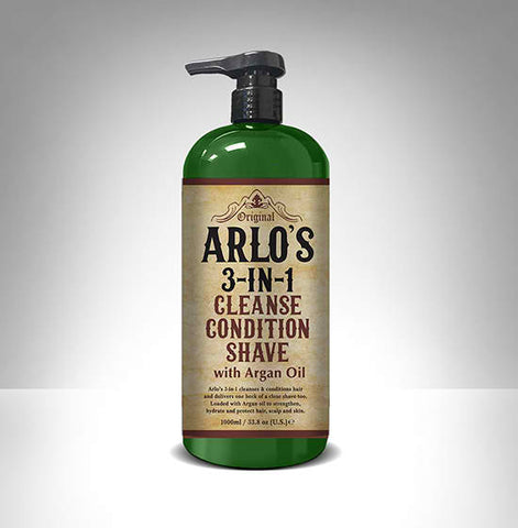 Arlo's 3-in-1 Cleanse, Condition, Shave 1L