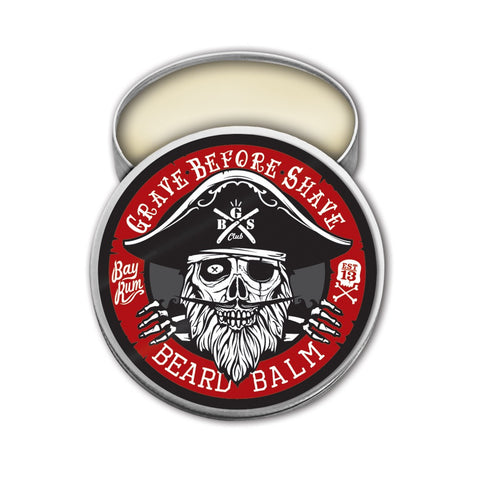 Grave Before Shave Bay Rum Beard Balm 2oz