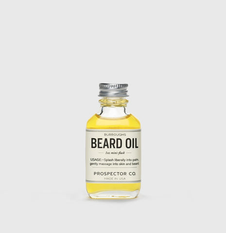 Prospector Co. Burroughs Beard Oil 1oz