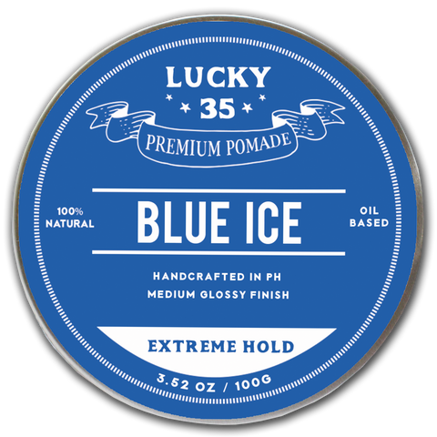 Lucky Thirty Five Blue Ice Extreme Hold Pomade 100g