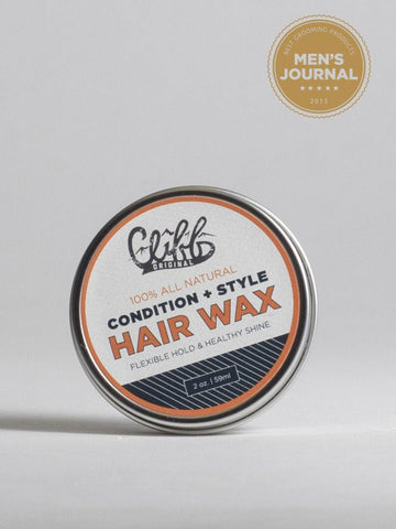 Cliff Original Hair Wax Puck 2oz