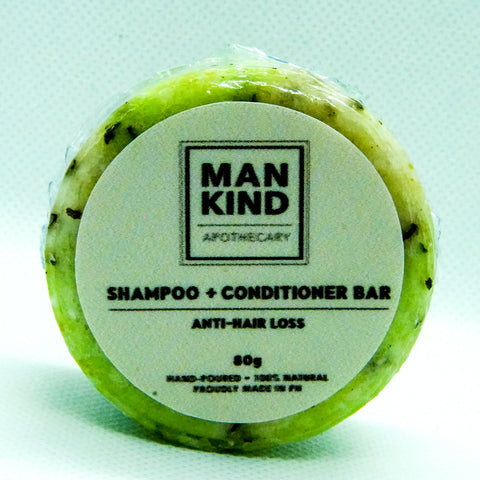 Mankind Apothecary Shampoo Bar + Conditioner Anti-Hair Loss 80g