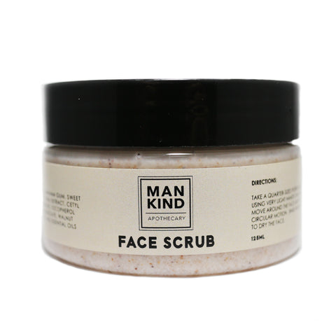 Mankind Apothecary Face Scrub 125g