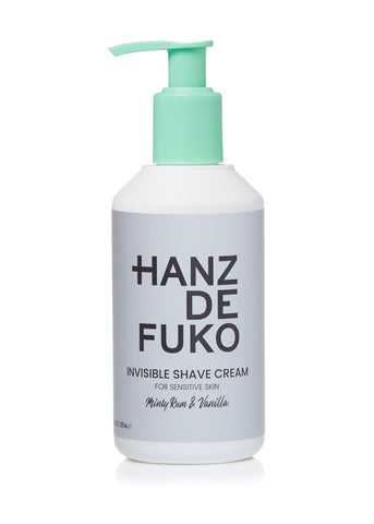 Hanz de Fuko Invisible Shave Cream 8oz