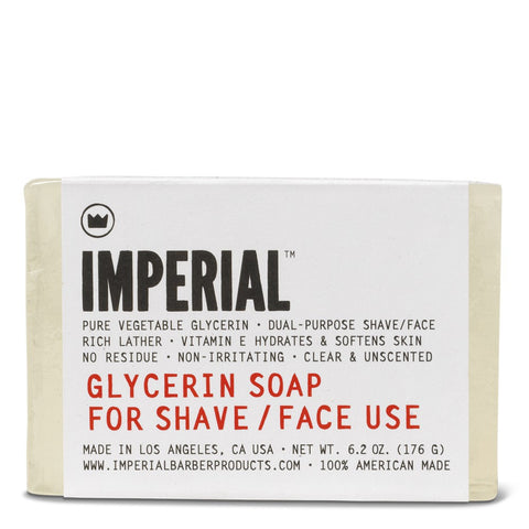 Imperial Glycerine Shave/Face Soap (Bar) 6.2oz