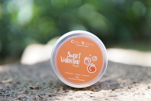 Conscents Scented Soy Candle - Peach Valentine