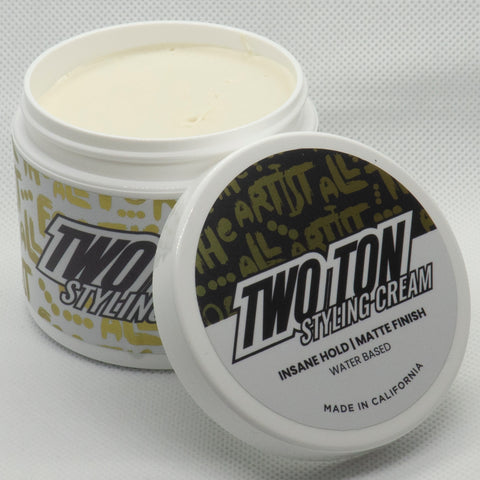 Hanz de Fuko Two Ton Styling Cream 4oz