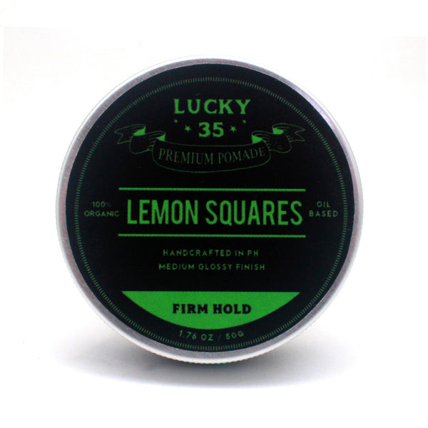 Lucky Thirty Five Lemon Squares 50g
