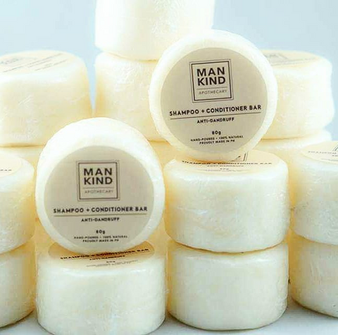 Mankind Apothecary Shampoo Bar + Conditioner Daily Care 80g