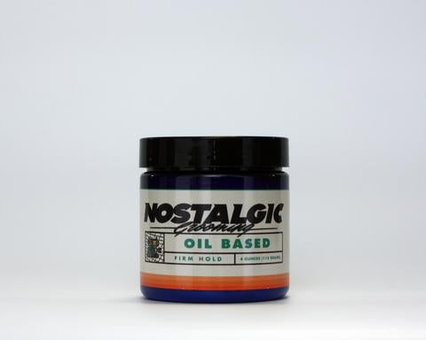 Nostalgic Firm Oil Based Pomade 4oz