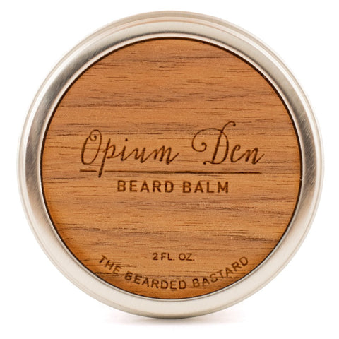 The Bearded Bastard Opium Den Beard Balm 2oz