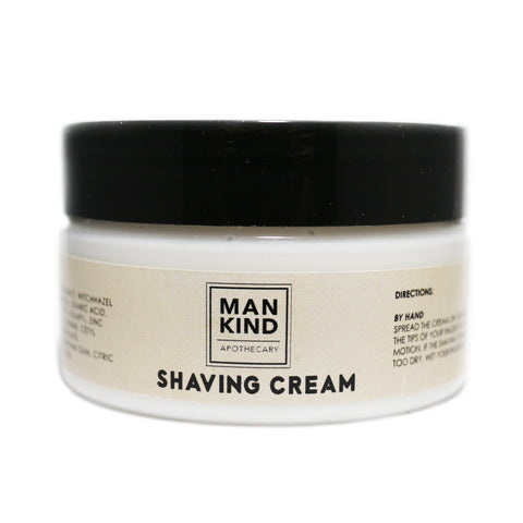 Mankind Apothecary Shave Cream 125ml