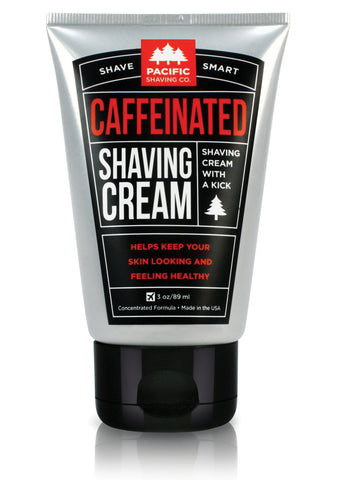 Pacific Shaving Co Caffeinated Shaving Cream 3oz