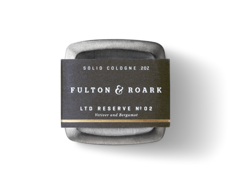 Fulton & Roark Ltd Reserve No. 2 Escalante Solid Cologne .2oz