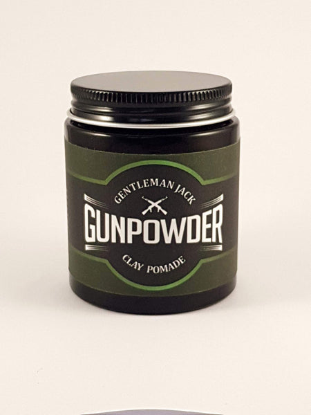 Gentleman Jack Gunpowder Clay Pomade 100g