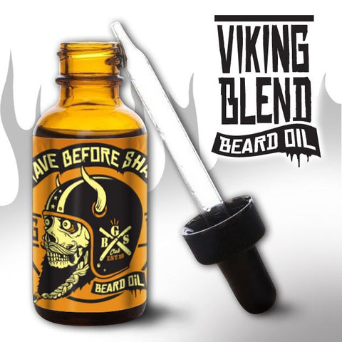 Grave Before Shave Viking Blend Beard Oil 1oz